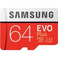 Samsung EVO Plus 64 GB MicroSDXC Class 10 Memory Card