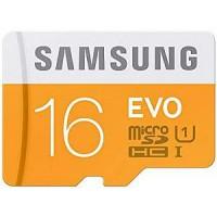 Samsung Evo 16 GB MicroSD Card Class 10 Memory Card